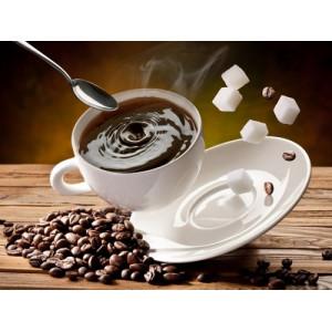 """895674 АРС Алмазная мозаика """"Кофе и сахар упали"""", 40х50 см"""