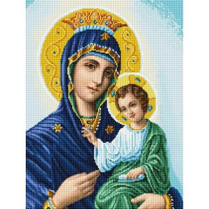 """GF2616 Алмазная мозаика на подрамнике """"Дева Мария"""", 40х50 см"""