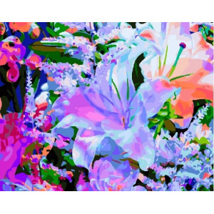 GX 8857 картины по номерам на холсте 40х50 см купить в Омске недорого