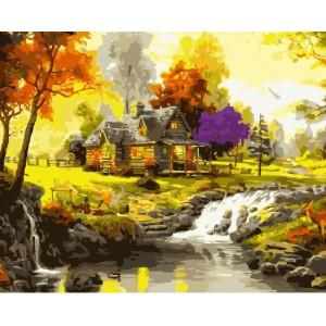 GX 7201 картины по номерам на холсте 40х50 см