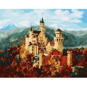 Картина по номерам GX 26584 Замок Нойшванштайн 40*50