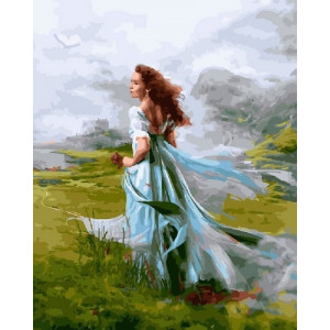 GX 23873 картины по номерам на холсте 40х50 см