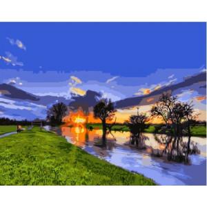 GX 3121 картины по номерам на холсте 40х50 см купить в Омске недорого