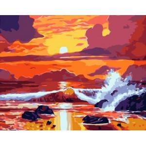 GX 6068 картины по номерам на холсте 40х50 см