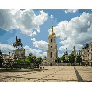 GX 4868 Киев картины по номерам на холсте 40х50 см