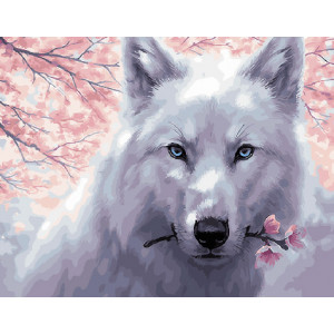 Картина по номерам GX 29952 Нежный зверь 40*50