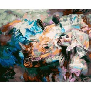 GX 23382 картины по номерам на холсте 40х50 см