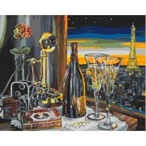 GX 9542 картины по номерам на холсте 40х50 см купить в Омске недорого