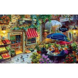 "GX7091 ""Уличное кафе"", 40х50 см купить в Омске недорого"