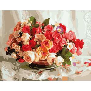 """G389 """"Букет роз"""", 40х50 см"""