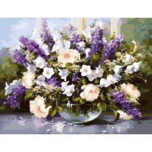 """G053 """"Цветы"""", 40х50 см"""