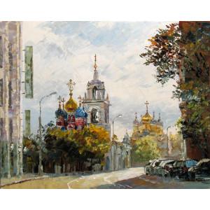"""GX7324 """"Церковь"""", 40х50 см"""