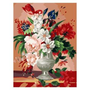 """GX7055 """"Букет цветов"""", 40х50 см купить в Омске недорого"""