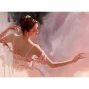"GХ8062 ""Балерина в пеньюаре"", 40х50 см"