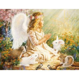 "GХ7275 ""Ангел и кролики"", 40х50 см"