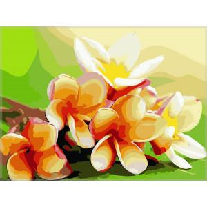 "GХ7186 ""Тайские цветы"", 40х50 см"