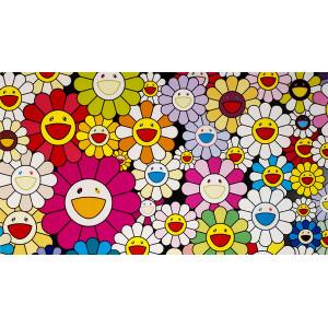 """GХ7101 """"Веселые цветы"""", 40х50 см купить в Омске недорого"""