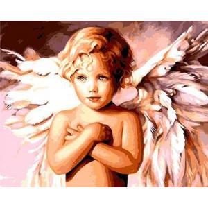 "GХ8940 ""Ангел со скрещенными руками"", 40х50 см"