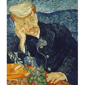 "G320 ""Портрет доктора Гаше"" Ван Гог, 40х50 см"