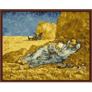 """GX6397 """"Полуденный отдых"""" Ван Гог, 40х50 см купить в Омске недорого"""