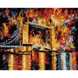 """GX8633 """"Лондонский мост"""" Афремов, 40х50 см"""