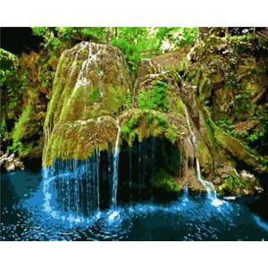 """GX8816 """"Красивый водопад"""", 40х50 см"""