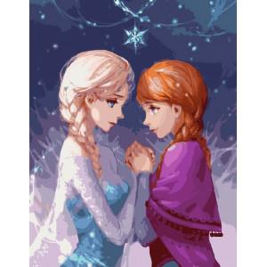 G255 Эльза и Анна 40х50