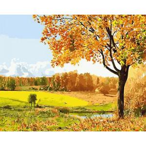 """GХ3116 """"Осенний пейзаж"""", 40х50 см"""