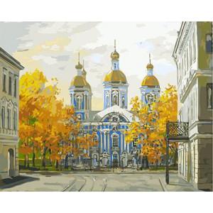 """GХ3274 """"Никольский собор"""", 40х50 см купить в Омске недорого"""