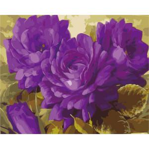 "GХ9926 ""Сиреневые цветы"", 40х50 см"