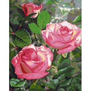 """GX3081 """"Три розы"""", 40х50 см"""