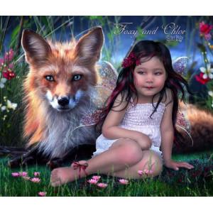 GX3473 Девочка и лиса купить в Серове недорого