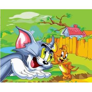 "GX6239 ""Том и Джерри"", 40х50 см"