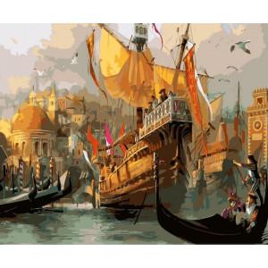 GX7535 «Венеция. Время маскарада» 40х50 н купить в Омске недорого