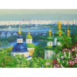"GX8293 ""Городской пейзаж"" 40х50"