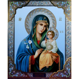 GX8411 Икона Божией Матери 40х50
