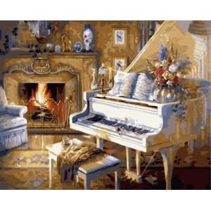 "GX9139 ""Белый рояль"", 40х50 см"