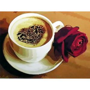 GX3422 Кофе и роза купить в Омске недорого