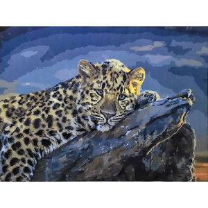 GX 3697 Молодой леопард купить в Омске недорого