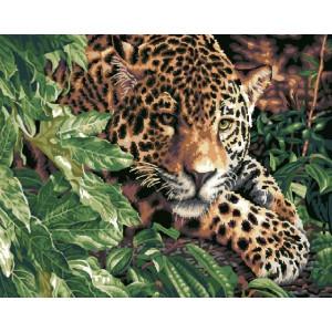 GX6833 Леопард в кустах купить в Омске недорого
