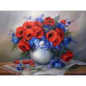 GX9423 Цветочный натюрморт (худ. Anca Bulgaru) купить в Омске недорого
