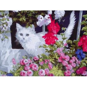 GX9630 (GX 3248) Котенок в цветах купить в Омске недорого