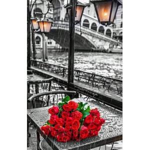 GX9754 Розы под дождем купить в Омске недорого