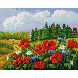 Вышивка крестиком 40Х50 Арт. 0234 Полевые цветы
